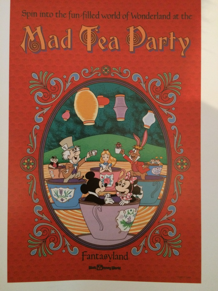 poster - mad tea party